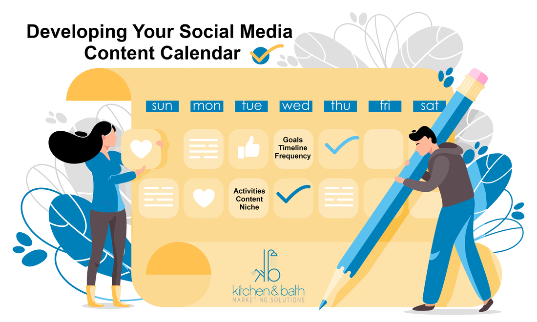 Developing Your Social Media Content Calendar the Right Way for Interior Designers and Home Remodelers